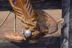 Boots & Spurs by Pat Pauley