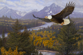 Let Freedom Ring Oil Painting by Pat Pauley